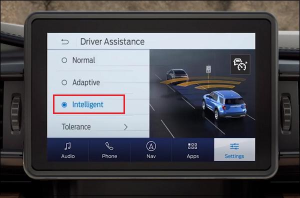 Driver Assistance Intelligent Mode