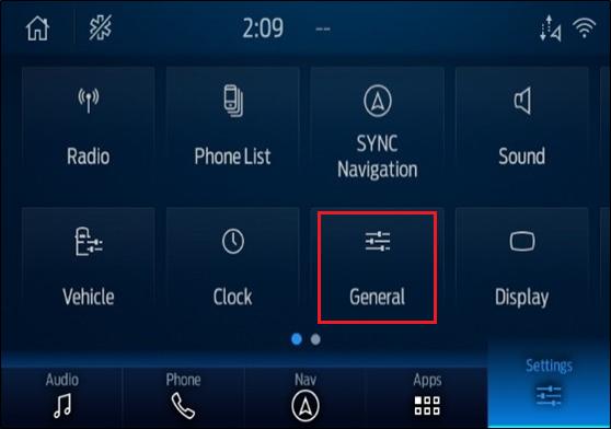 General button