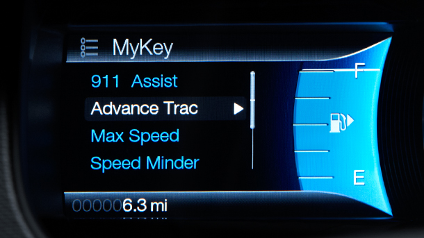 MyKey to limit the speed my teenager can drive